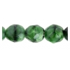 Fire Polished 10mm Black/Green Combo